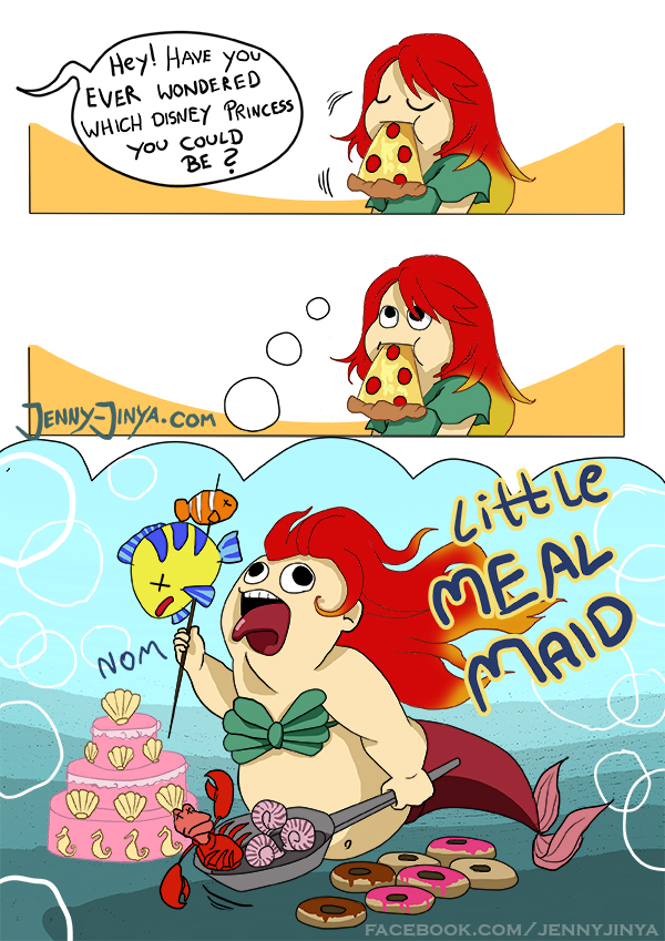 webcomic little Mealmaid