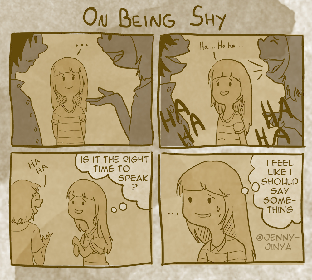 on being shy 5