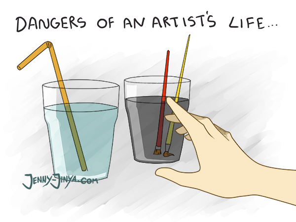 webcomic artist probs 2