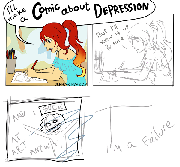 webcomic Depression